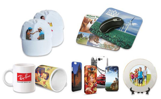 Heat transfer printing on Promotional Gifts
